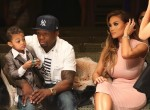 50 Cent & model Daphne Joy kick off LA Fashion Week supporting their son, Sire Jackson