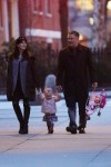 Alec Baldwin and Hilaria take baby Carmen to Washington Square Park