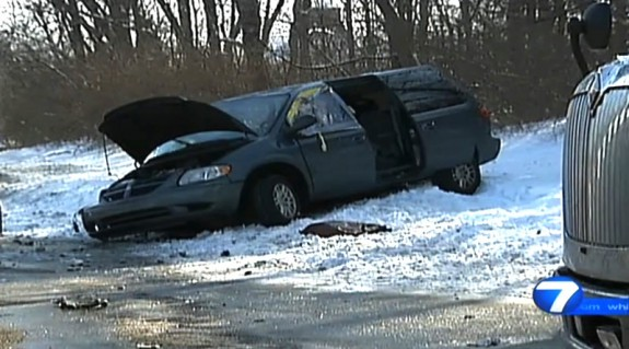 Baby Survives Being thrown 25 ft from vehicle 1