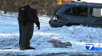 Baby Survives Being thrown 25 ft from vehicle