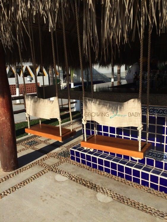 Buenaventura Grand Hotel and Spa- bar swings