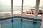 Buenaventura Grand Hotel and Spa - jacuzzi overlooking the ocean