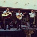 Buenaventura Grand Hotel and Spa - mariachi band at breakfast