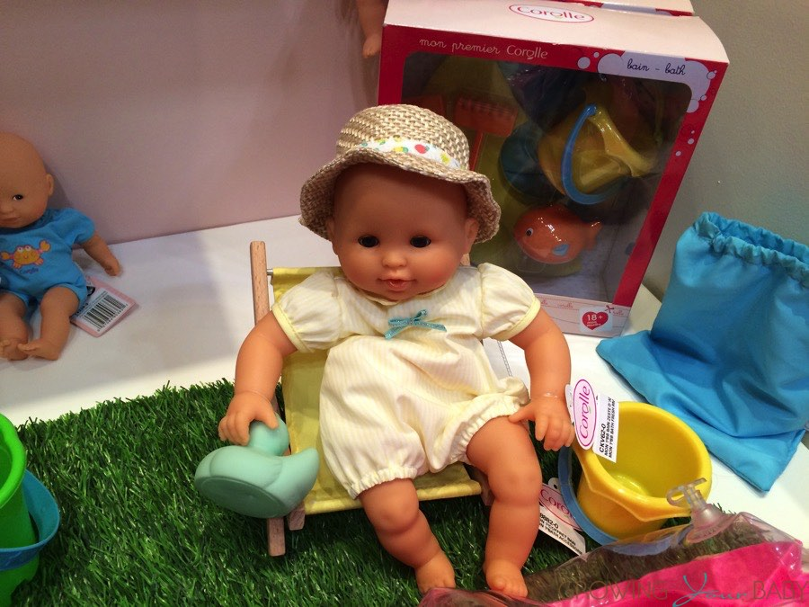 corolle 2015 mon premier bebe bath fresh riviera growing your baby. Black Bedroom Furniture Sets. Home Design Ideas