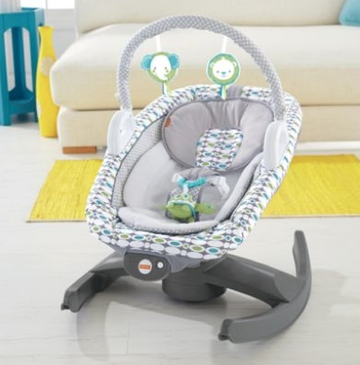 fisher-price 4-in-one rock n glide soother