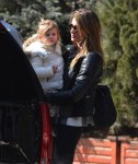 Gisele Bundchen out in NYC with daughter Vivian Brady