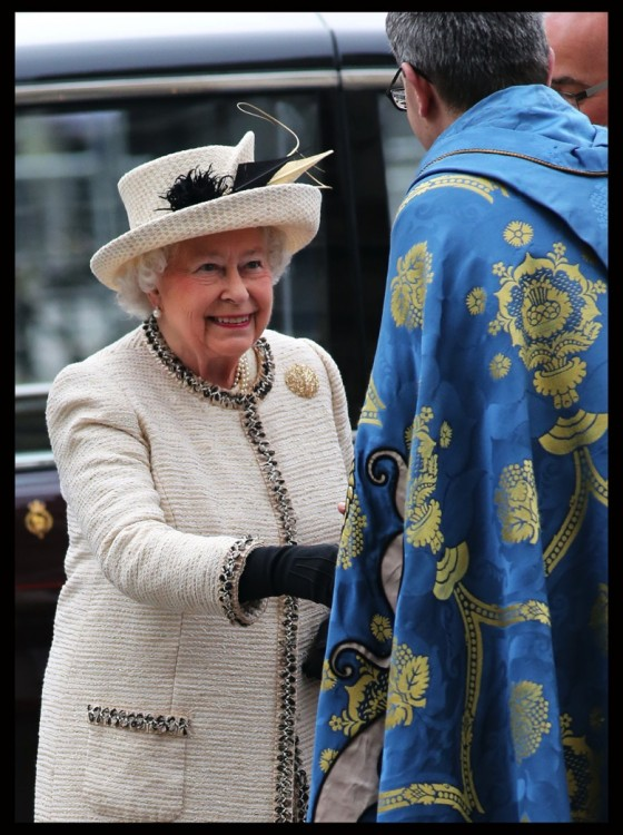 Her Royal Highness Queen Elizabeth at the annual Commonwealth Observance
