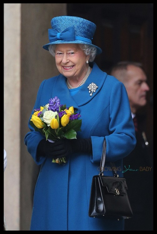 Her Royal Highness Queen Elizabeth attends a Service of Commemoration London