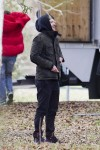 JustinTimberlake on the set of his wife' new movie 'The Devil and The Deep Blue Sea'