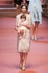 MFW Autumn:Winter 2015 - Dolce & Gabbana - Viva La Mamma - mom and baby