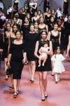 MFW Autumn:Winter 2015 - Dolce & Gabbana - Viva La Mamma - show finale