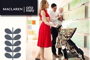 Maclaren Debuts New Orla Kiely Quest Stroller