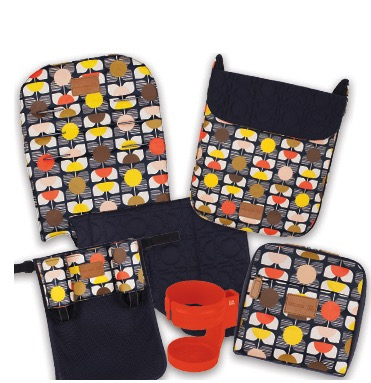 Maclaren Object of Design Orla Kiely Quest accessories
