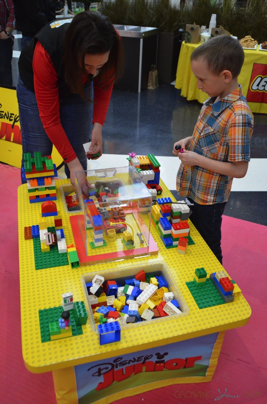 Magic Of Play Lego Duplo Mall Booth Creating New Things