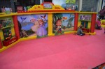 Magic of Play Lego Duplo Mall Booth - pose with Jake and Sofia