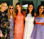 Molly Sims, Rachel Zoe, Dr. Michele Hakakha, Vanessa Lachey and Kerry Washington