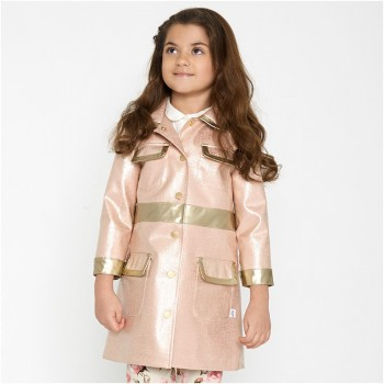 Oil and Water - City coat pink and platnium