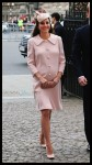 Pregnant Duchess of Cambridge arrives at the annual Commonwealth Observance