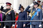 Prince William and Harry, with Kate Middleton at the Afghanistan Service of Commemoration