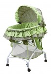 Recalled Dream on Me 2-in-1 Bassinet to Cradle - green