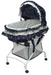 Recalled Dream on Me 2-in-1 Bassinet to Cradle - navy blue