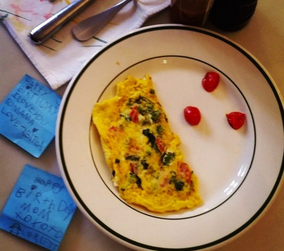 Sarah Jessica Parker birthday breakfast instagram