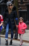 Sarah Jessica out with daughter Tabitha Broderick