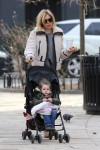 Sienna Miller strolls with her daughter Marlowe Sturridge
