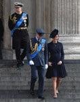 The Duke & Duchess Of Cambridge Attend a Service of Commemoration