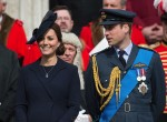 The Duke and Duchess Of Cambridge Attend a Service of Commemoration