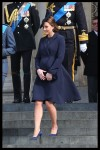 The Duke and Duchess Of Cambridge Attend a Service of Commemoration London