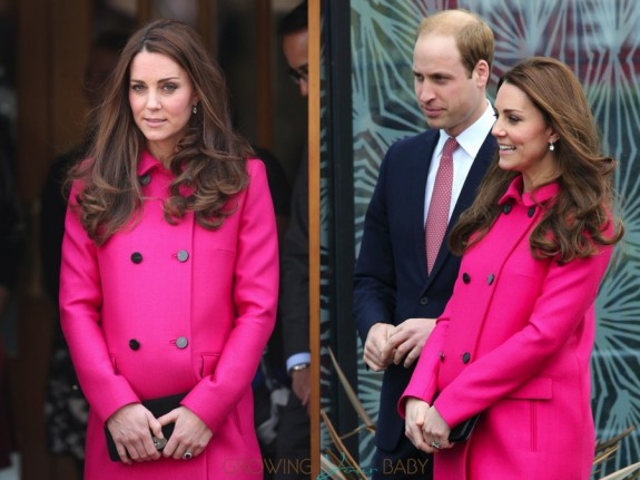The Duke and Duchess of Cambridge visit the XLP Arts Project at Christ Church, London