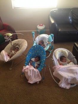 The morales Quadruplets