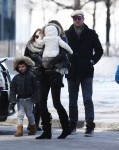 Tom Brady and Gisele Bundchen out in NYC with kids Ben and Vivian