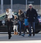 Tom Brady and Gisele Bundchen out in NYC with kids John, Ben and Vivian