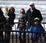 Tom Brady and Gisele Bundchen out in NYC with kids John and Vivian