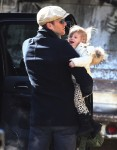 Tom Brady out in NYC with daughter Vivian