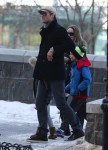 Tom Brady out in NYC with son John