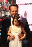 Vince Vaughn and daughter Lochlyn at Hands and Footprints Ceremony in Hollywood