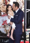 Vince Vaughn with daughter Lochlyn at Hands and Footprints Ceremony in Hollywood