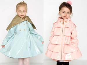 Oil & Water ~ Gorgeous Raincoats For Your Little Fashionista!