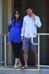pregnant Zooey Deschanel  and Jacob Pechenik Step out in LA