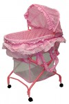 recalled Dream on Me 2-in-1 Bassinet to Cradle - pink
