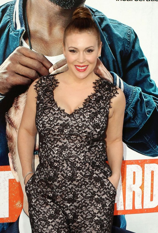 Alyssa Milano at Get Hard
