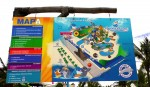 Aquaventuras Park in Puerto Vallarta - Map