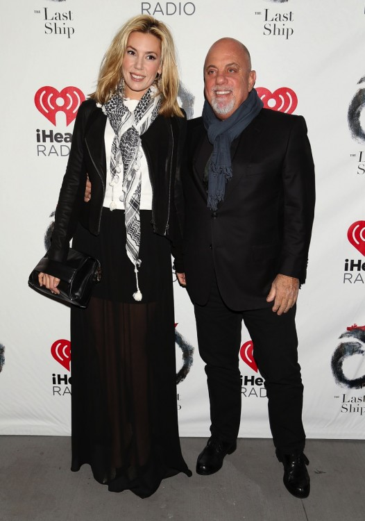 Billy Joel and girlfriend Alexis Roderick