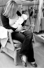 Brianna Morrison with son Sylas Christopher