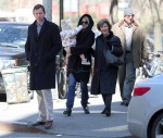 Jenna Bush-Hager out in NYC with husband Henry, daughter Mila and Mom Barbara