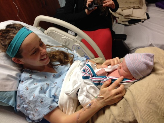 Jill Duggar Dillard with son Israel