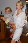 Kelly Rutherford with daughter Helena Summer 2013